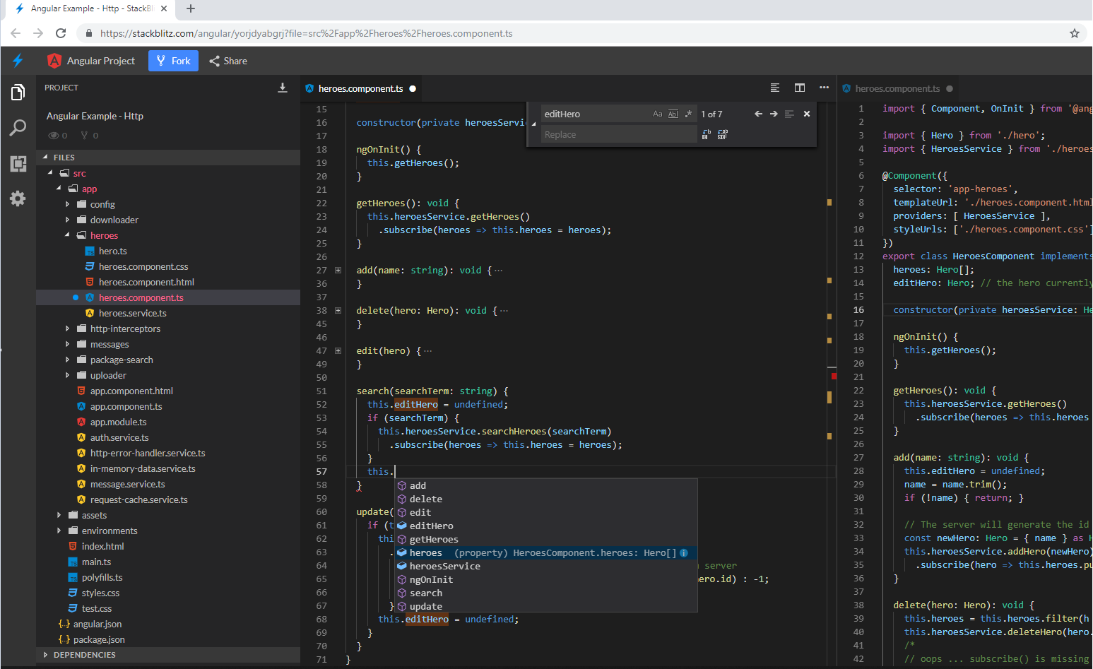 StackBlitz, the Online IDE for Web Applications - Brintia